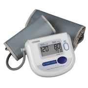 CITIZEN Digital Blood Pressure Monitor with Adult and Large Adult Cuffs, White (CH-4532)