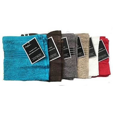 Simply Lush Washcloth, 100% Cotton, 13