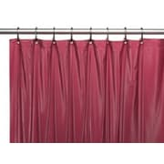 Sheer Grommet Shower Curtain, Burgundy, (SC510BUR)