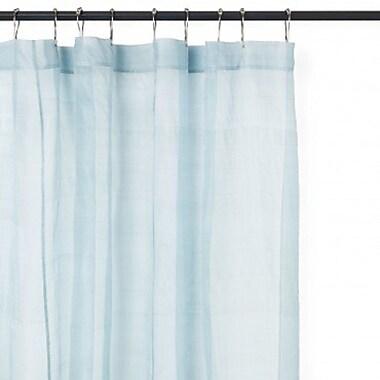 Schonfeld – Doublure de rideau de douche robuste, 70 x 72 po, bleu clair (SL076LB)