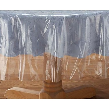 Nusso Crystal Clear Vinyl Tablecloth Protector, 50