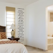 Wallums Wall Decor 10 Ways To Love Wall Decal; Chocolate Brown
