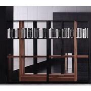 Bellini Modern Living Quaderna 47'' Standard Bookcase