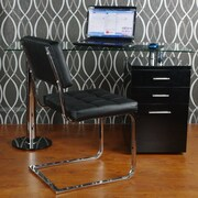 BestMasterFurniture Computer Desk; Black