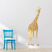 Wallums Wall Decor Giant Giraffe Printed Wall Decal