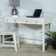 My Home Furnishings Amanda Writing Desk; Dove Grey