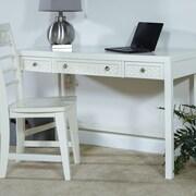 My Home Furnishings Amanda Writing Desk w/ 3 Drawers; Bright White