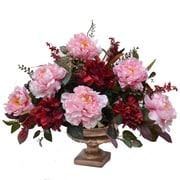 Floral Home Decor Peony Centerpiece