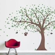 Wallums Wall Decor Pastel Trees Printed Wall Decal