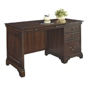 Fairfax Home Collections Belcourt Credenza Desk with Single Pedestal