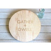 Richwood Creations Engraved Lazy Susan