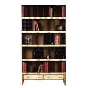 French Heritage Felix 85'' Cube Unit Bookcase; Beige