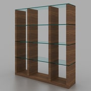 J&M Furniture Elm 72'' Cube Unit Bookcase