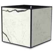 TheTrades&WaresCo Porcelain Planter Box; Bianco Statuario
