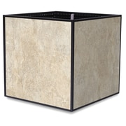 TheTrades&WaresCo Porcelain Planter Box; Almond
