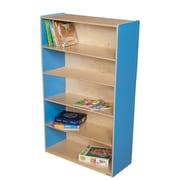 Wood Designs 60'' Standard Bookcase; Blueberry