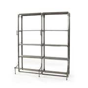Hip Vintage Double Warehouse 82'' Etagere Bookcase