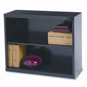 Tennsco Tennsco 30'' Standard Bookcase; Black