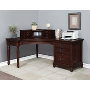 Turnkey LLC Oxford Corner Desk; with Hutch