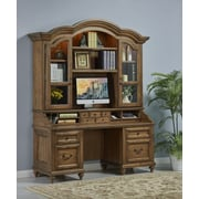 Turnkey LLC Avignon Credenza Desk with Drawer; With Hutch
