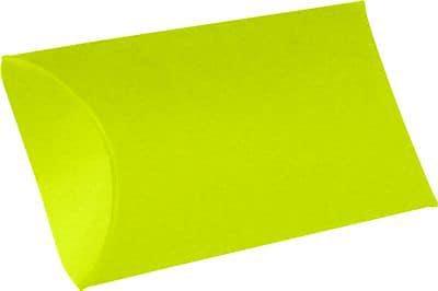 "LUX® Small Pillow Boxes, 2"" x 3/4"" x 3"", Wasabi Green, 10 Qty (LUX-SPB-L22-10)"