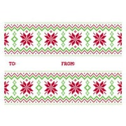 """LUX® #17 Mini Gift Card Envelopes, 2 11/16"""" x 3 11/16"""", Ugly Christmas Sweater Pattern, 50 Qty (LEVC-H01-50)"""