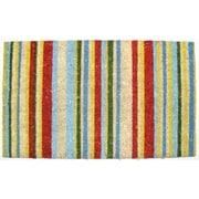 J&M Home Fashions Bright Stripes Doormat