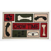 J&M Home Fashions Chow Time Accent Mat
