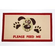 J&M Home Fashions Please Feed Me Accent Mat
