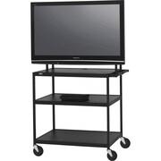 Bretford – Muble pour téléviseur Basics, 3 tablettes, acier, noir, (FP60UL-E5BK)