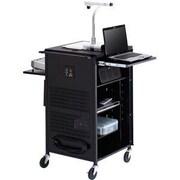 Bretford – Support pour ordinateur Basics, 3 tablettes, acier, noir, (TCPUL23FF-BK)