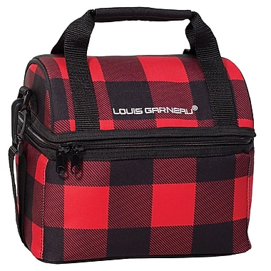 Louis Garneau Children Lunch Box with Dome Opening, Red Quad