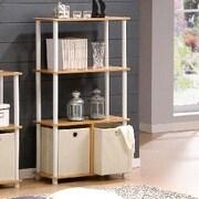 Wildon Home   43.5'' Standard Bookcase; Steam Beech
