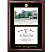 Campus Images NCAA Northern Kentucky University Diploma Frame with Lithograph Picture Frame
