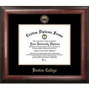 Campus Images NCAA Boston College Gold Embossed Diploma Picture Frame