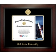 Campus Images NCAA Ball State University Infinity Diploma Picture Frame