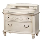 Avalon Furniture Shelter Bay Writing Desk with Flip Top
