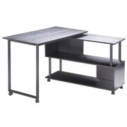 Merax Computer Desk; Espresso