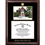 Campus Images NCAA Michigan State University Alumni Chapel Embossed Diploma Picture Frame