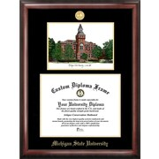Campus Images NCAA Michigan State University Linton Hall Embossed Diploma Picture Frame