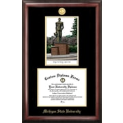Campus Images NCAA Michigan State University Spartan Embossed Diploma Picture Frame