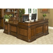 Fairfax Home Collections Winsome Executive Desk with Return