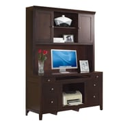 Fairfax Home Collections Companion Credenza Desk w/ Hutch in Cherry