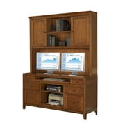 Fairfax Home Collections Companion Credenza Desk with Hutch