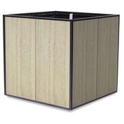 TheTrades&WaresCo Porcelain Planter Box; Platinum White