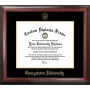 Campus Images NCAA Georgetown University Gold Embossed Diploma Picture Frame