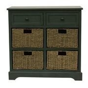 Decor Therapy Montgomery 6 Drawer Chest; Antique teal