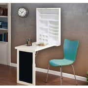 UtopiaAlley Floating Desk; White
