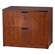 WIS Furniture Group 2-Drawer Lateral File; Cherry