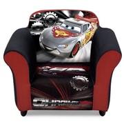 Delta Children Disney/Pixar Cars Kids Plastic Frame Upholstered Chair
